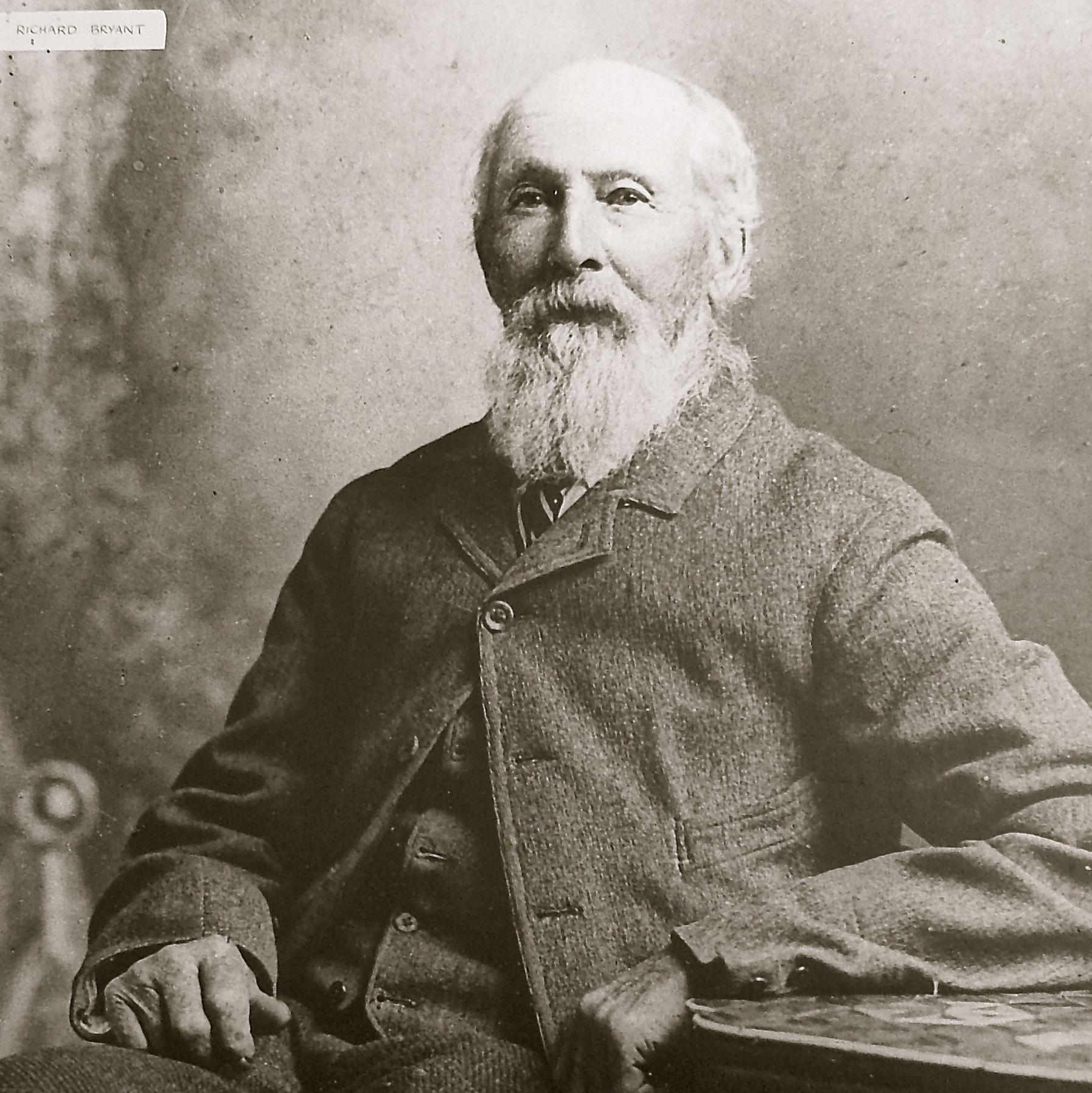 Richard Bryant portrait photo from late 1800s